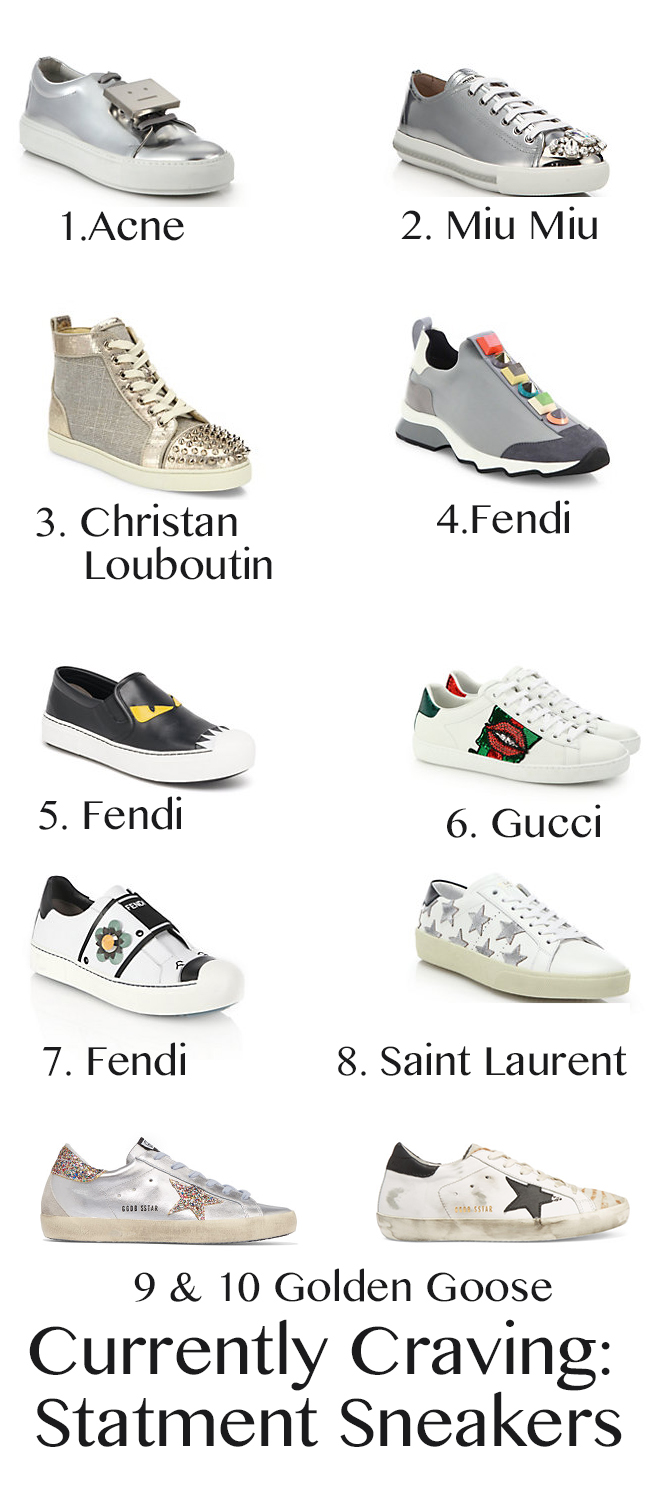 09519b325ea Currently Craving Statement Sneakers with Styled & Disturbed